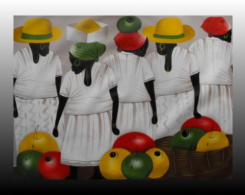 Vendita di quadri etnici e moderni della Republica Dominicana ...