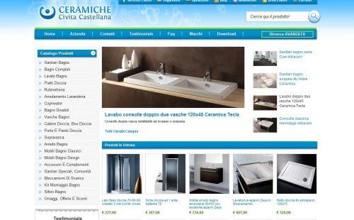 Vendita online arredo bagno sanitari, lavabi e piatti doccia ...