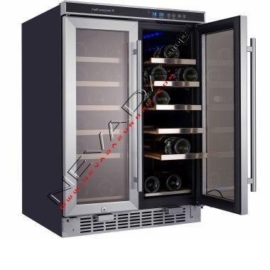 Cantinette frigo per vini vino e distillati produzione e for Frigoriferi rossi