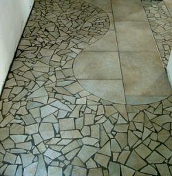 Posa di piastrelle pavimenti in resina mosaico pietre naturali cotto ristrutturazioni - Posa piastrelle mosaico ...