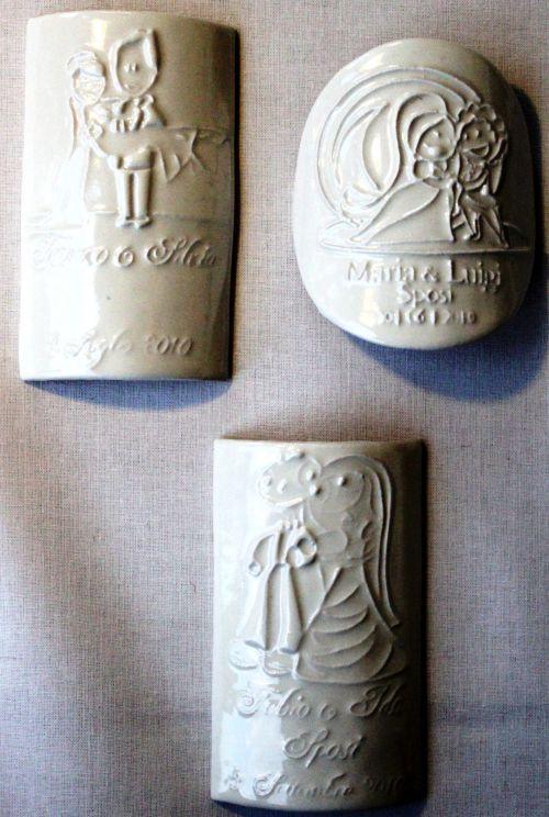 Top Vendita bomboniere personalizzate: vino con etichetta in ceramica  YD76