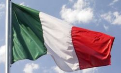 bandiera italiana prodotta da Flagsonline.it